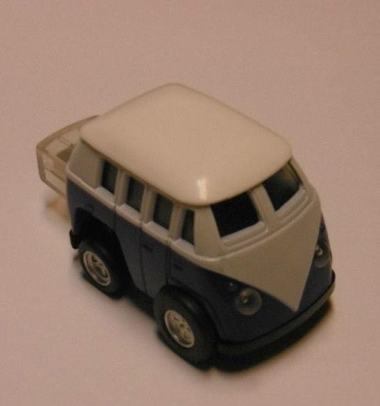 Clé USB en forme de Volkswagen Combi split bleu mémoire 8 GO
