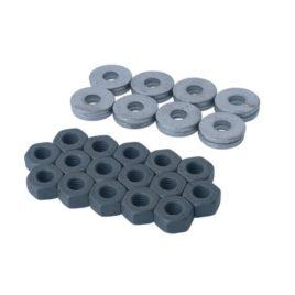 Set de 16 écrous et rondelles de culasses diamètre 8 mm