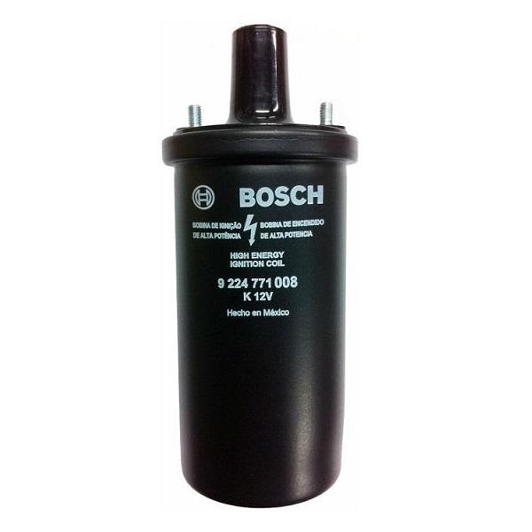 Bobine noire d'allumage 12 V Bosch à bain d'huile coccinelle
