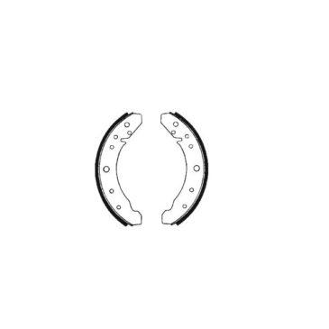 Machoires de frein arrière coccinelle 57-7/64 (230x30mm)