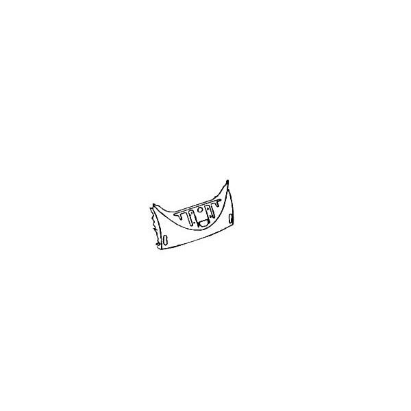 Jupe avant coccinelle -7/67 (pour capots longs)
