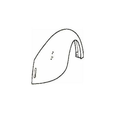 Aile arrière droite coccinelle 1300 -1302 8/67-7/73