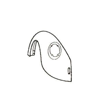Aile arrière gauche 1303-1200 8/73-7/74