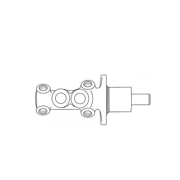 Maître cylindre 20,64 mm cabrio sans ABS 84-90 pour VW Golf 1