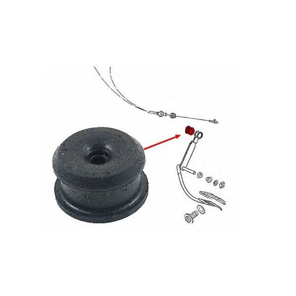 Silentbloc de fixation du cable d'accélérateur sur pédalier pour Golf 1 G1 sauf auto
