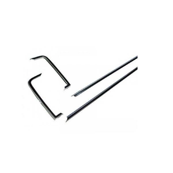 Set de 4 baguettes aluminium sur calandre type GLS pour Golf 1