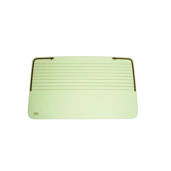 Lunette arrière teintée vert avec dégivrage pour Golf 1