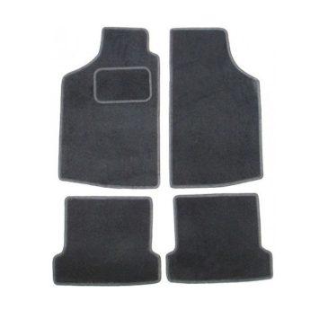 Kit de 4 tapis noir pour Golf 1 berline