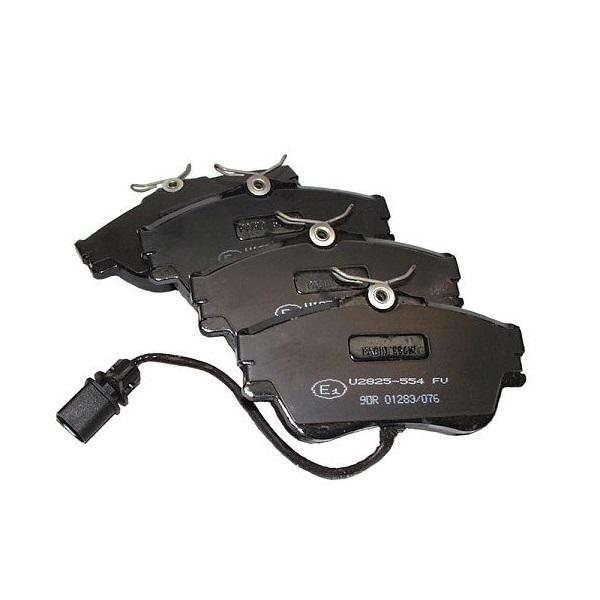 Plaquettes de frein avant transporter T4,disques pleins 282x18mm 5/1999-6/2003