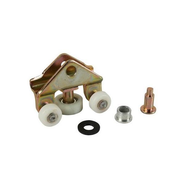Kit réparation guide et galet inférieur de porte coulissante gauche ou droite transporter T4