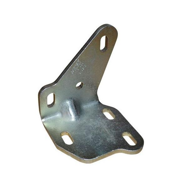 Bras support du guide et galet inférieur de porte coulissante droite transporter T4 9/1990-6/2003