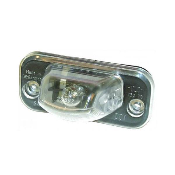 Lentille avec ampoule d'éclairage de plaque d'immatriculation T4 9/1990-6/2003